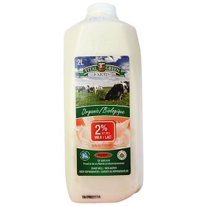 Organic 2% Milk- Code#: DA8008