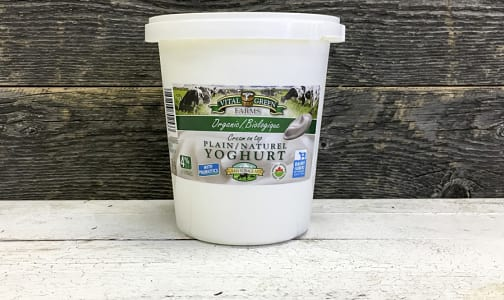 Organic Plain Yogurt- Code#: DA8014
