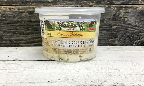 Organic Cheese Curds- Code#: DA8027