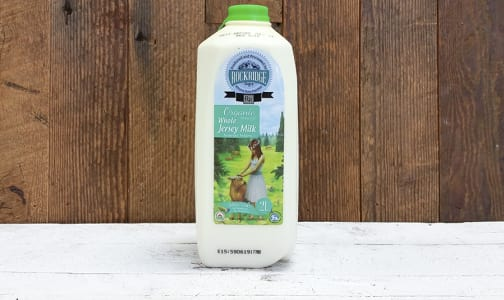 Organic Whole Jersey Milk (~5% MF)- Code#: DA8047