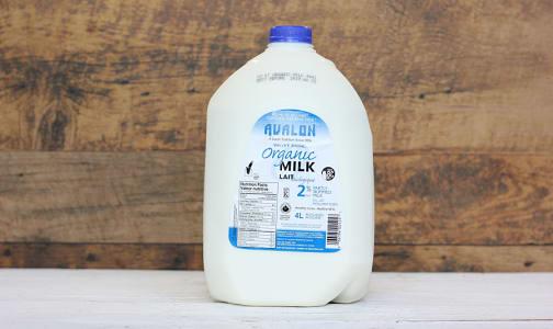 Organic 2% Milk- Code#: DA828