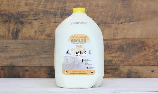 Organic 1% Milk- Code#: DA830
