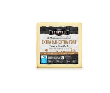Bothwell Maplewood Smoked Extra Old Cheddar- Code#: DA931