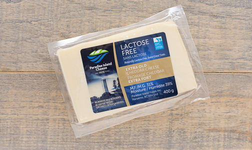 Lactose Free Extra Old White Cheddar- Code#: DC0009