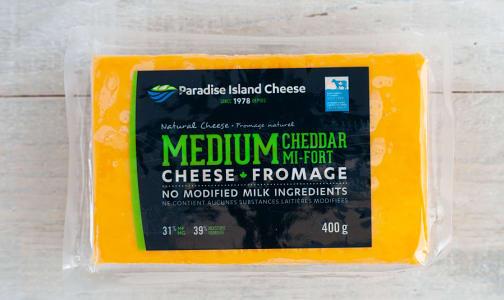 Medium Cheddar Cheese- Code#: DC0022