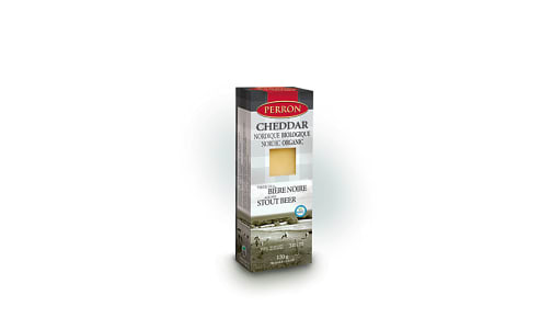 Organic Cheddar Aged in Stout Beer- Code#: DC0033