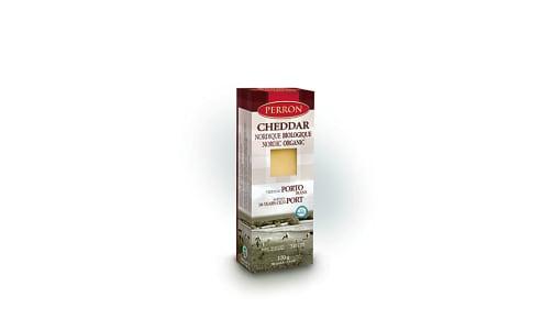 Organic Cheddar Aged in Port- Code#: DC0034