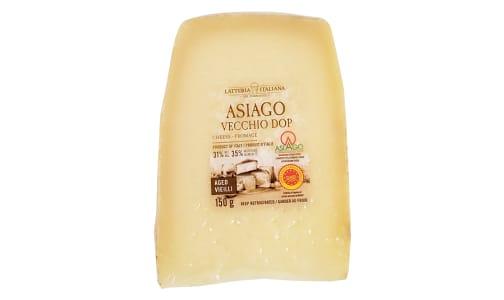 Asiago Vecchio DOP (Aged)- Code#: DC0160