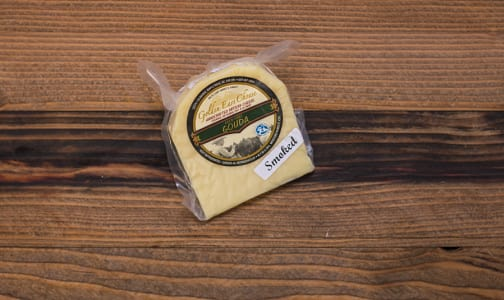 Grass-fed Gouda - Smoked- Code#: DC215-NV