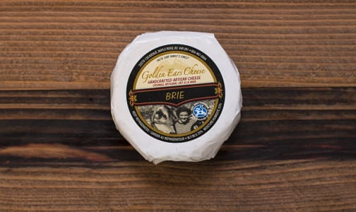 Grass-fed Triple Cream Brie - Canadian Grand Prix Cheese Awards Finalist- Code#: DC231-NV