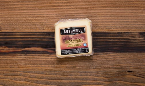 Maple Smoked Aged Cheddar- Code#: DC604