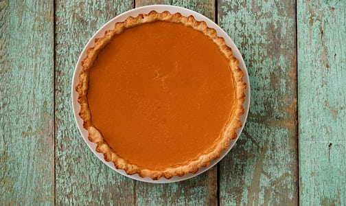 Vegan Pumpkin Pie (Frozen)- Code#: DE0095