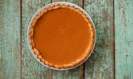 Vegan Pumpkin Pie (Frozen)- Code#: DE0095