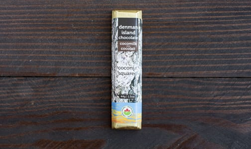 Organic Coconut Squared Dark Chocolate Bar- Code#: DE0143