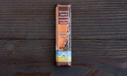 Organic Quinoa Chai Dark Chocolate Bar- Code#: DE0145