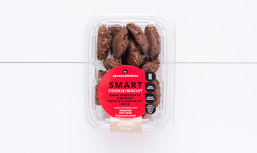 Smart Cookie - Dark Chocolate Coconut Cookies- Code#: DE0155