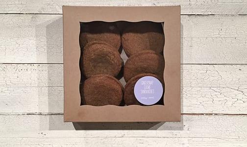 Gingersnap Sandwich Cookies- Code#: DE0167