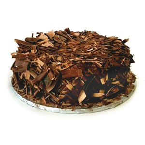 Organic Vegan Chocolate Cake with Ganache  *order 2 days before delivery*- Code#: DE0305