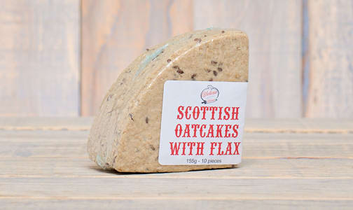 Scottish Oatcakes with Flax- Code#: DE0322