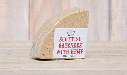 Scottish Oatcakes with Hemp- Code#: DE0323