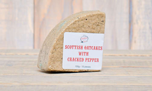 Scottish Oatcakes with Cracked Pepper- Code#: DE0324