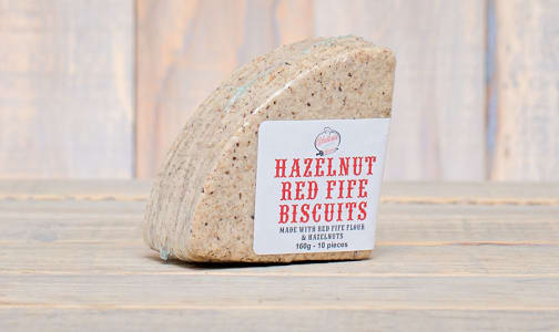 Hazelnut Red Fife Biscuits- Code#: DE0327