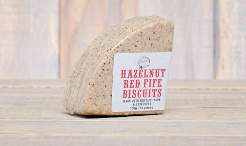 Hazelnut Red Fife Biscuits- Code#: DE0327