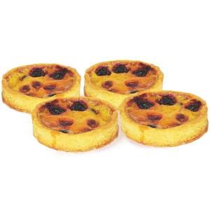 Organic Fruit Custard Tart- Code#: DE0366
