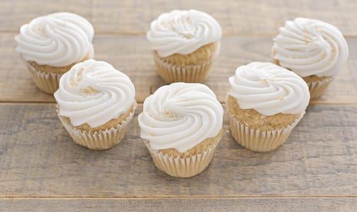 Gluten Free Vegan Coconut Cupcakes- Code#: DE0439