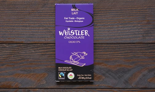 Organic Milk Chocolate Bar- Code#: DE043