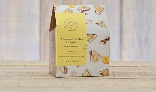Coconut Lemon Chai Almond Butter Crunch- Code#: DE0451