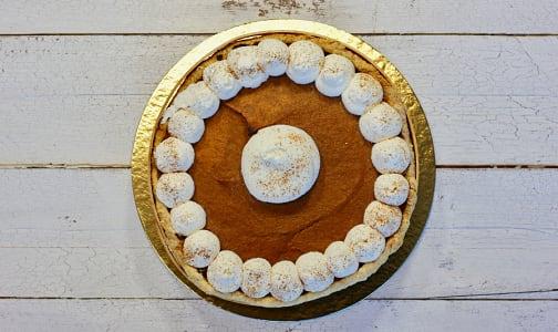 Bourbon Pumpkin Pie (Frozen)- Code#: DE0509