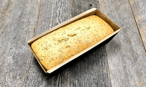 Lemon Poppyseed Mini Loaf (Frozen)- Code#: DE0575