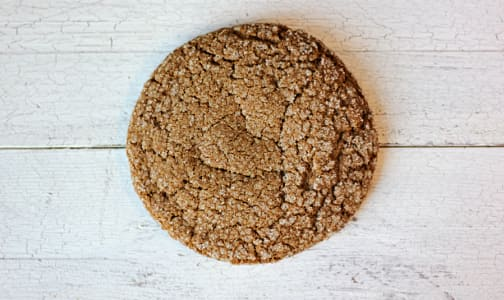 Ginger Molasses Cookie - Single- Code#: DE0584