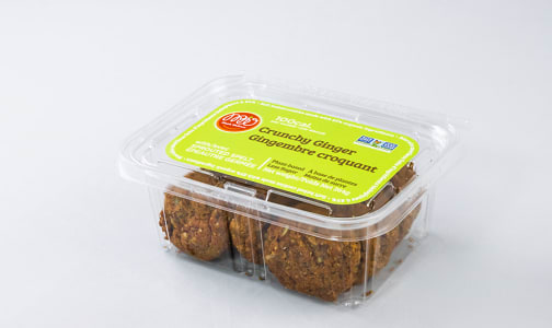 Sprouted Spelt Soft Baked Cookie - Crunchy Ginger- Code#: DE0857