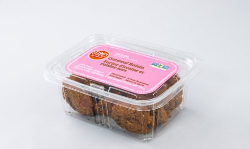 Sprouted Spelt Soft Baked Cookie - Oatmeal Raisin- Code#: DE0863