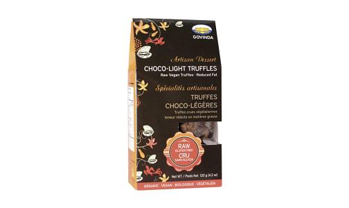 Organic Choco - Light Truffles- Code#: DE0958