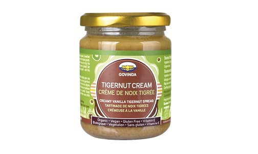 Organic Tigernut Cream Spread- Code#: DE0975
