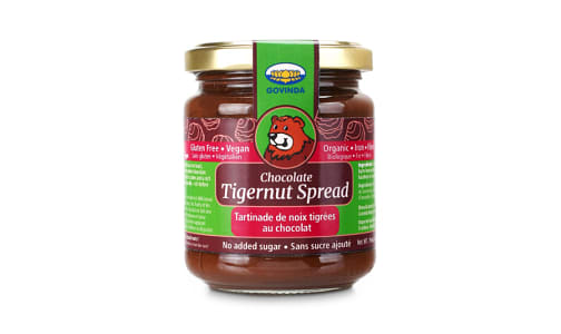 Organic Chocolate Tigernut Spread- Code#: DE0976