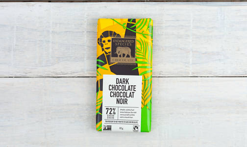 Chimpanzee Bar - 72% Cocoa Dark- Code#: DE1009