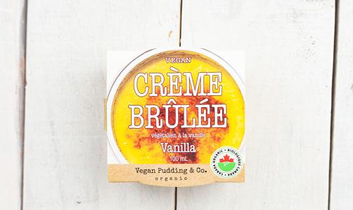 Organic Vegan Crème Brulee - Vanilla- Code#: DE1023