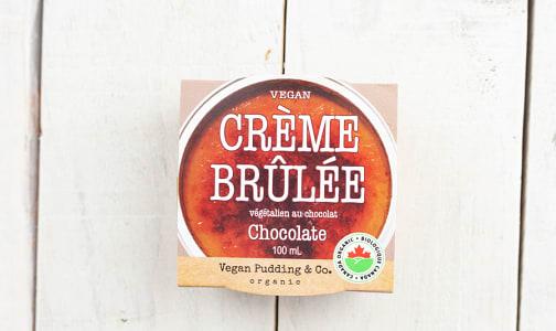 Organic Vegan Crème Brulee - Chocolate- Code#: DE1025