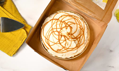 Butterscotch Cream Pie (Frozen)- Code#: DE1052