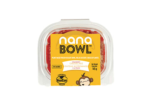 Organic Strawberry Cheesecake Nanabowl (Frozen)- Code#: DE1085