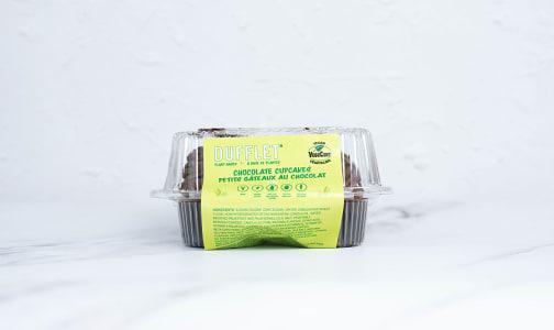Plant-Based Cupcakes - Chocolate (Frozen)- Code#: DE1128