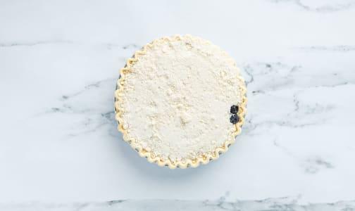 Blueberry Goat Cheese Crumble Pie 9  (Frozen)- Code#: DE1138