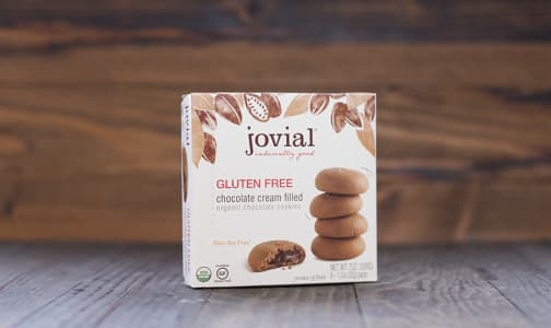 Organic Chocolate Cream Filled Cookies- Code#: DE1300