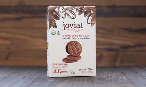 Organic Crispy Cocoa Cookies- Code#: DE1303