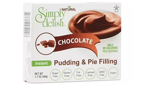 Chocolate Pudding Mix- Code#: DE1372