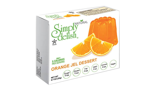 Orange Jel Dessert Mix- Code#: DE1373